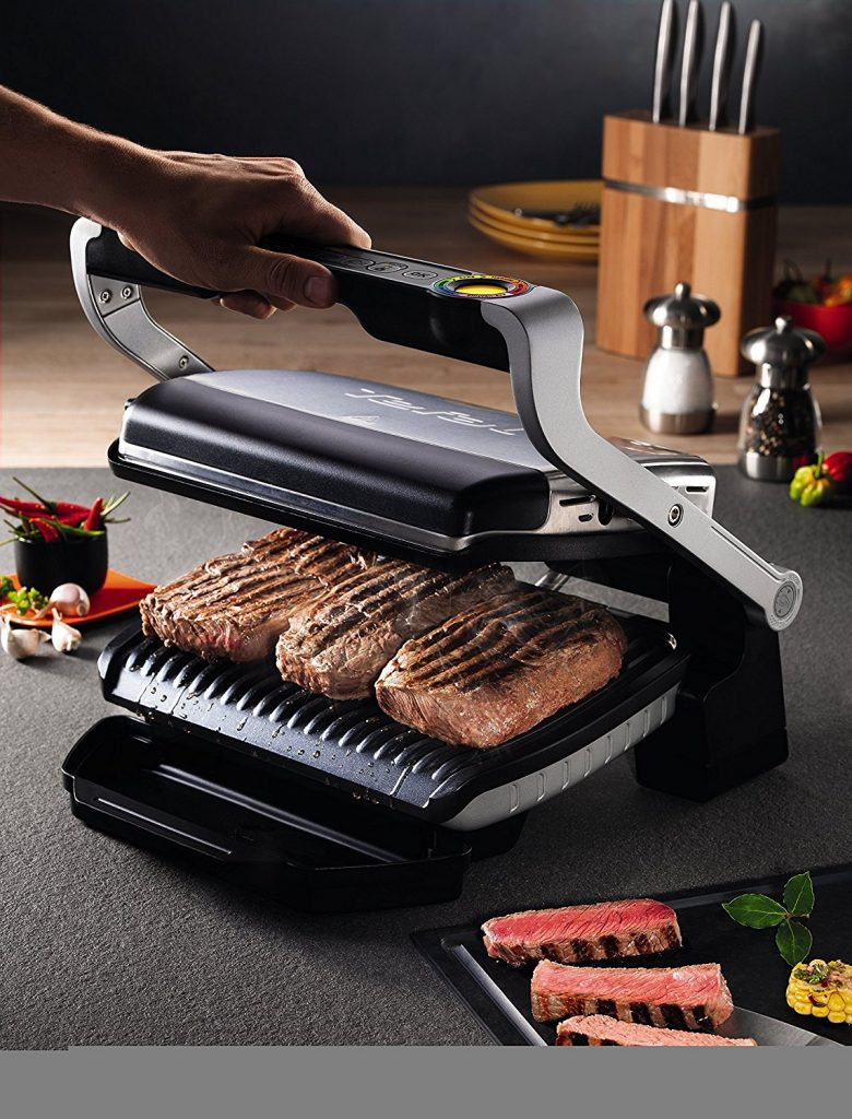 Parrilla electrica tefal optigrill