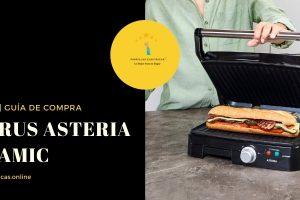 Grill Taurus Asteria Ceramic plancha Doble – Análisis