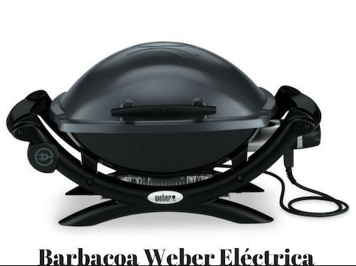 Barbacoa Weber Electrica