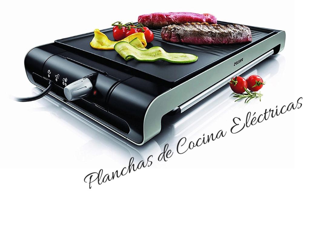 Planchas de cocina electricas y asar