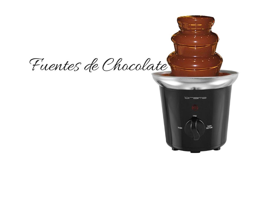 fuente de chocolate las mejores