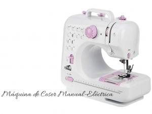 maquina de coser manual electrica