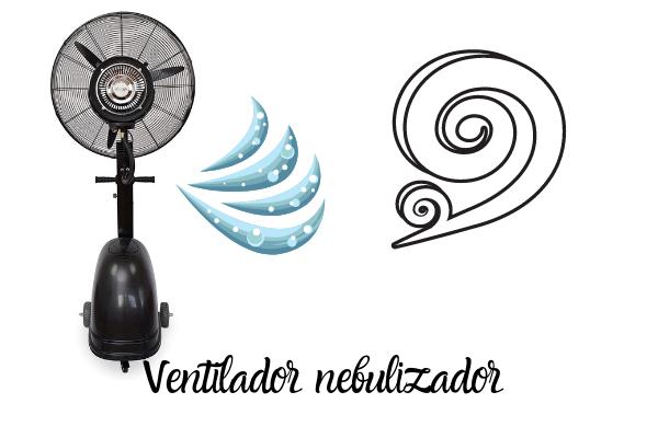Ventilador nebulizador