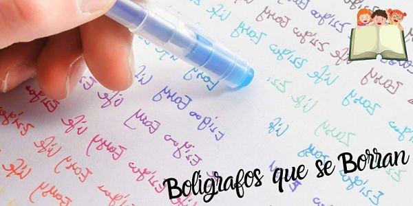Mejores Boligrafos que se Borran