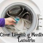 Cómo limpiar la lavadora - Trucos y consejos para un correcto mantenimiento ⭐