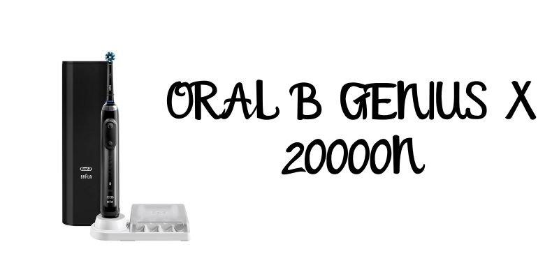 ORAL B GENIUS X 20000N