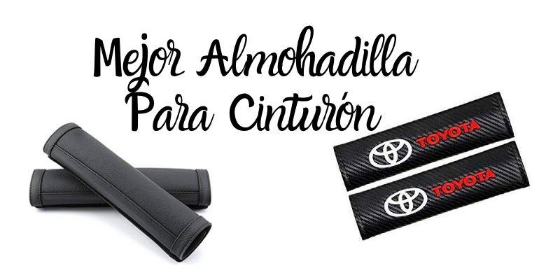 Fitracker con logotipo de coche bordadas 1 par de almohadillas para cintur/ón de seguridad de coche
