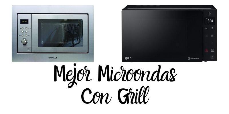 mejor microondas con grill