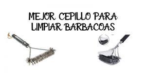 MEJOR CEPILLO PARA LIMPIAR BARBACOAS