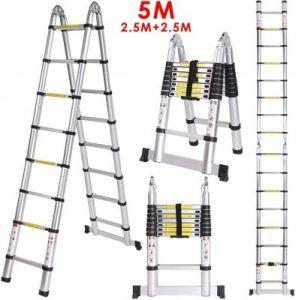 mejor escalera de aluminio recomendada