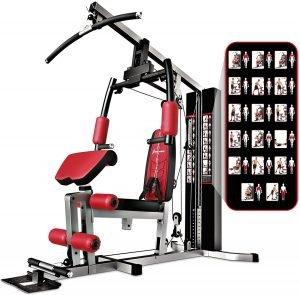 máquina de musculación recomendada