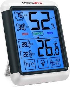 termómetro ambiental thermopro