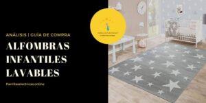 mejores alfombras infantiles lavables
