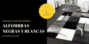 mejores alfombras negras y blancos