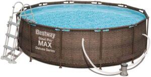 bestway Steel Pro Max Deluxe piscina