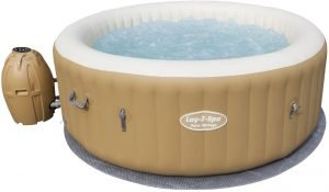 bestway palm springs jacuzi hinchable