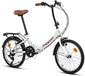 bicicleta plegable momas bikes