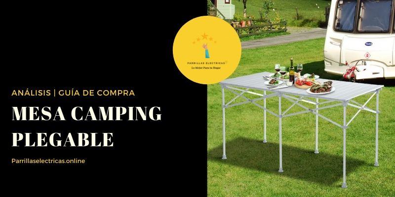 mejores mesa plegable camping