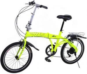riscko bicicleta plegable