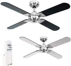 ventilador de techo con mando a distancia minisun