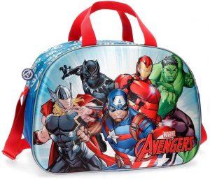 maleta de viaje para niños marvel