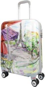 mercury maleta de viaje con dibujo