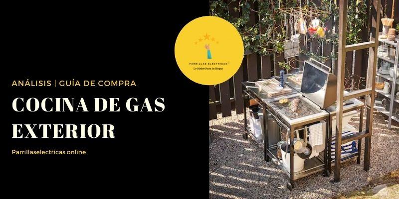 mejores cocinas de gas exterior