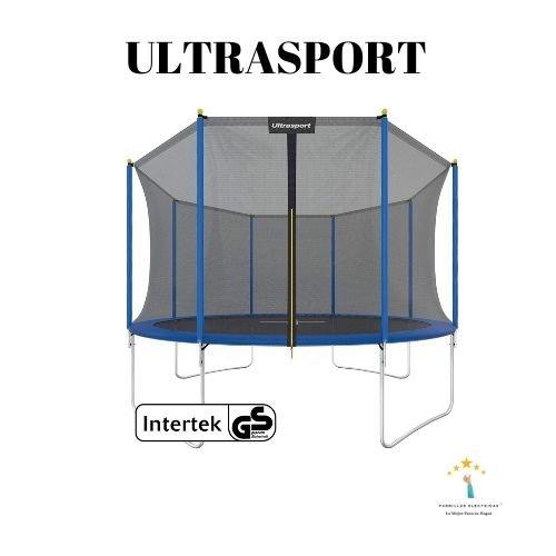 1. Ultrasport Cama elástica de jardín XL