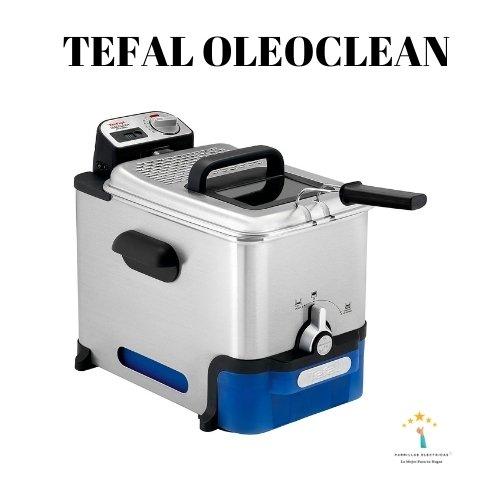 1. Tefal oleoclean Pro Freidora, 3.5L, 2300 CON