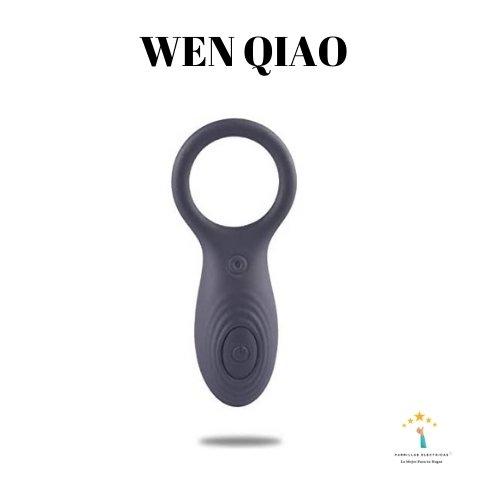 2. Wen Qiao - Anillo de Pene Vibrador Control Remoto