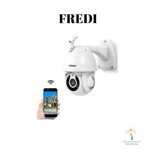 cámaras IP exterior FREDI