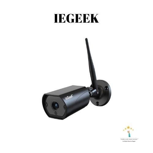 4. ieGeek Cámara de Vigilancia WiFi Exterior