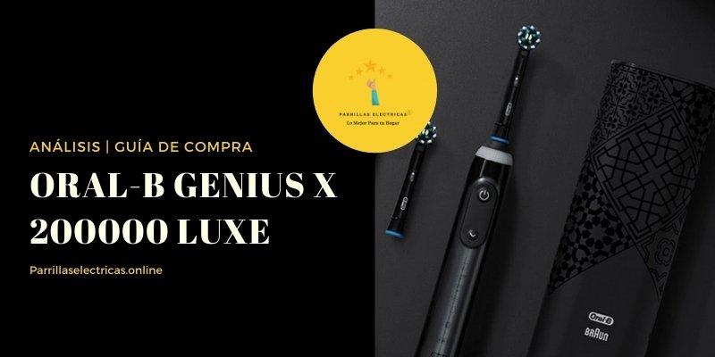 cepillo eléctrico Oral-B Genius X 20000 Luxe Edition
