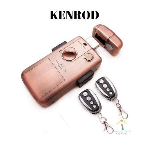 4. Cerradura inteligente invisible, marca Kenrod