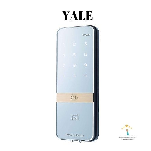 1. Cerradura inteligente de puertas de cristal Yale