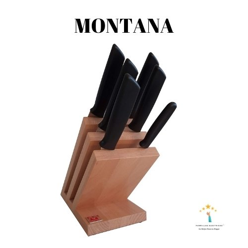 4. Montana. Bloque de cuchillos profesionales 6 piezas