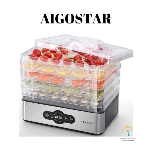 5.  Aigostar Crispy - Deshidratador de alimentos