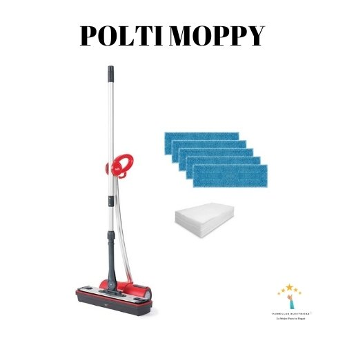 4. Polti Moppy Red Premium