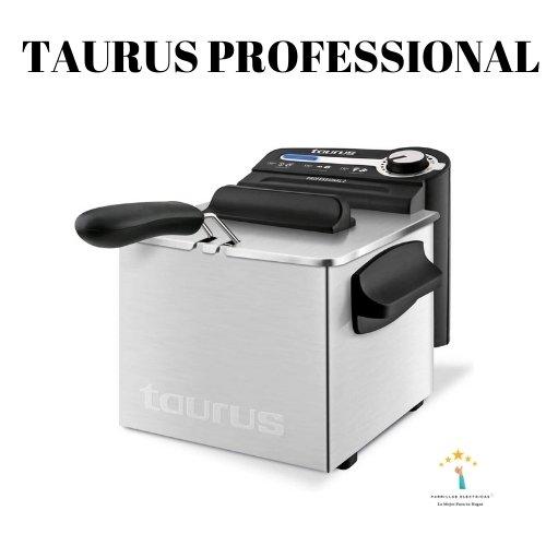 3. Taurus Professional 2 Plus freidora eléctricas caseras