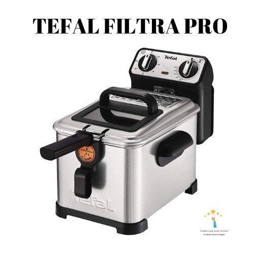 freidora eléctrica tefal filtra pro