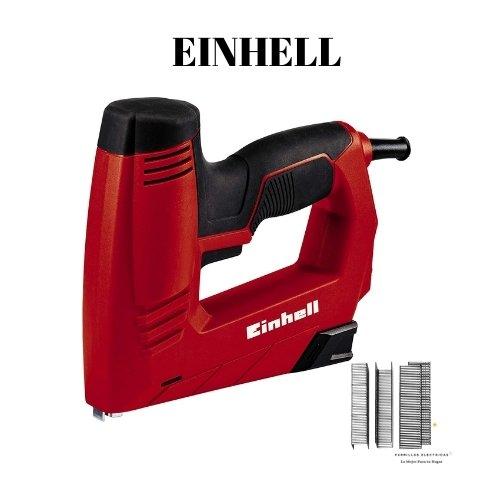 5. Einhell 4257890 TC-EN 20 E - Grapadora Eléctrica