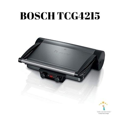 1. Bosch TCG4215 - Grill de mesa