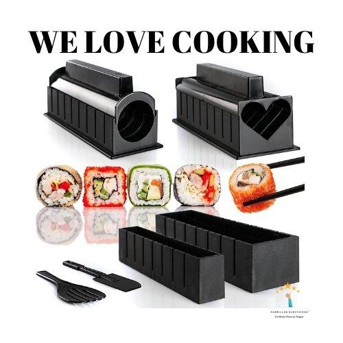 2. WeLoveCooking Juego de Utensilios para Hacer Sushi