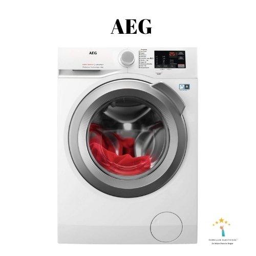 3. Lavadora AEG - Mejor lavadora carga superior