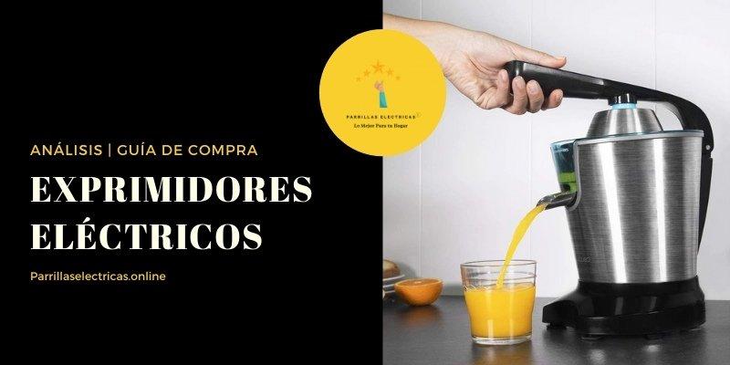 mejores exprimidores eléctricos de naranja