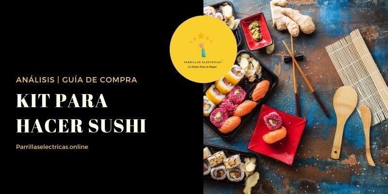 mejores kits para hacer sushi