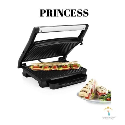 7. Princess 112413 – Parrilla para bocadillos | Panini Grill
