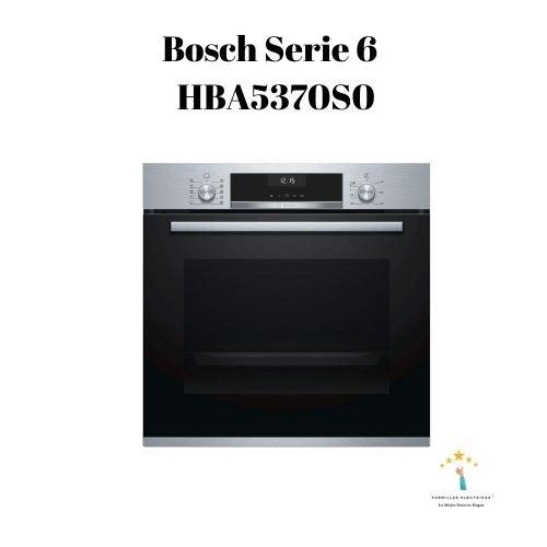 3. Bosch Serie 6 HBA5370S0