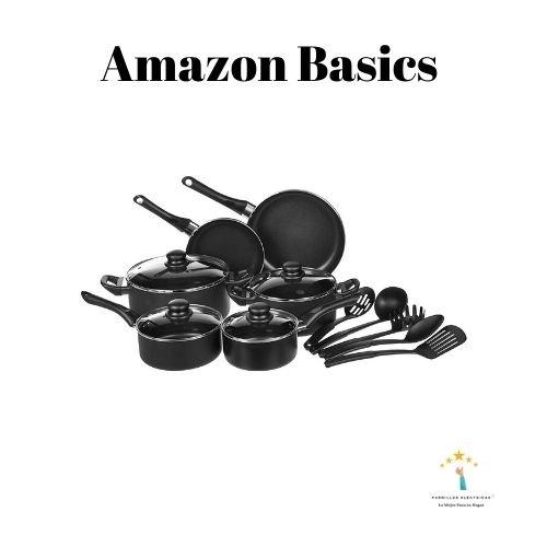 Mejor batería de cocina Amazon basics