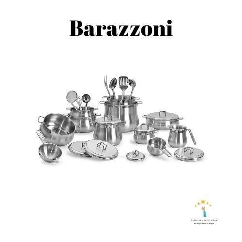 5. Barazzoni, Tummy - Batería de Cocina, Acero Inoxidable